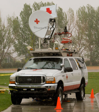 Satcoms play a vital role in disaster relief