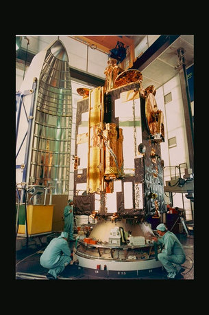 Olympus integration with Ariane, 1989
