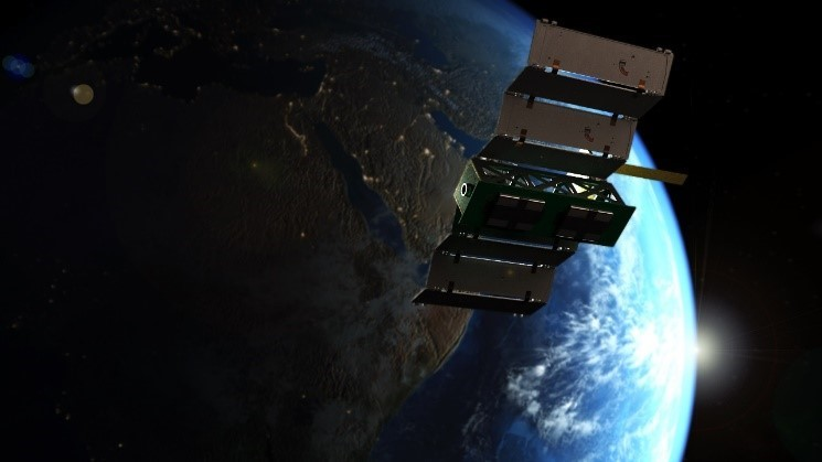 Unicorn-2 boasts a 20 watt quadruple deployable solar panel, the world's smallest active pointing system and all key electronics integrated into one board (backplane). Image credits: Alba Orbital Limited