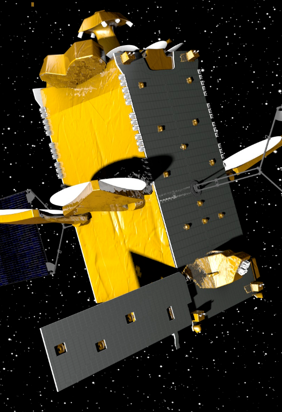 The DPR fully deployed in-orbit in the Alphabus configuration