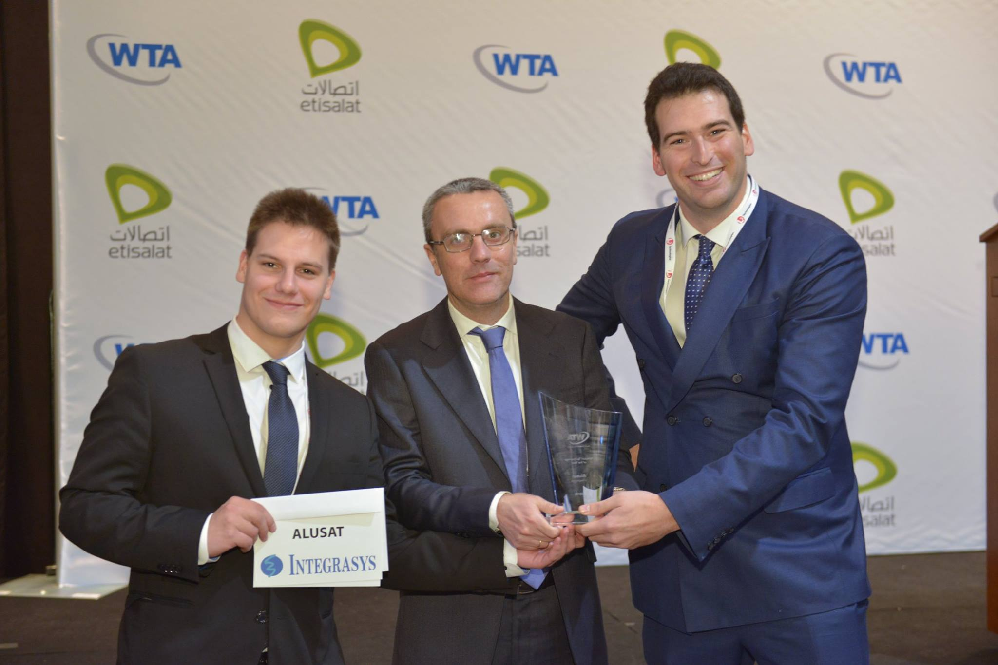 ALUSAT was awarded 'Teleport Technology of the Year' by the World Teleport Association.