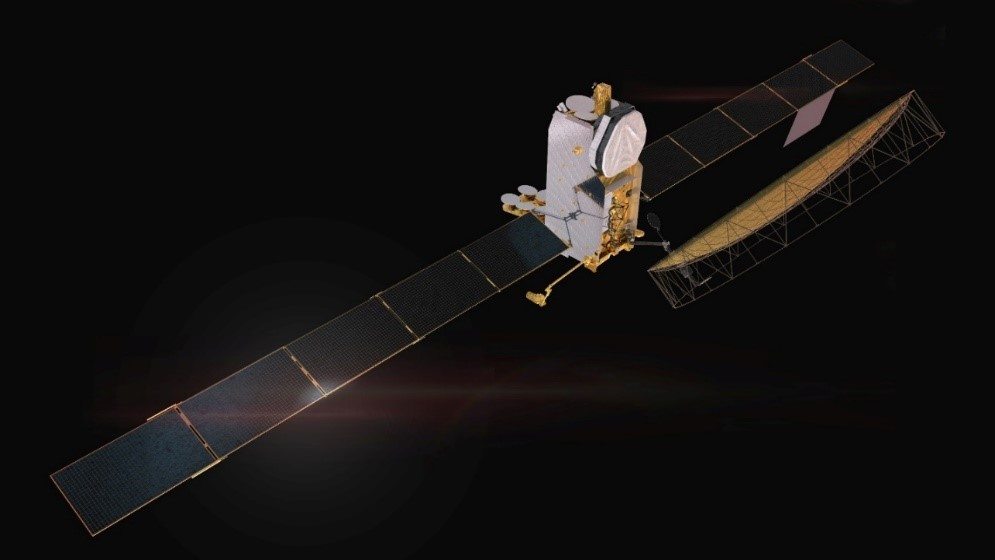 Inmarsat 6 (above) and will provide mobile communication services worldwide. (Picture credit:  ADS UK)