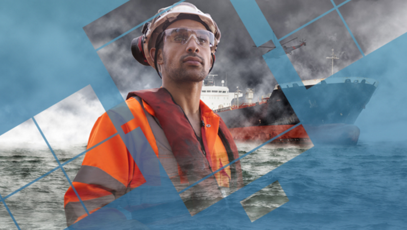 Enhancing safety of lives at sea – 1.6 million seafarers rely on Global Maritime Distress and Safety Systems. Credit: Inmarsat