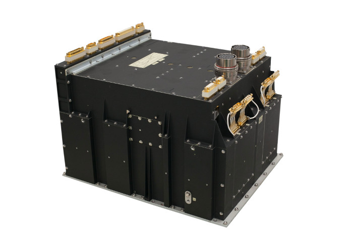 The PPU Mk3 power supply for plasma thrusters. Image credit: TAS-B